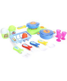 Sunny Candy's Family Kitchen Set Multicolor - 14 Pieces