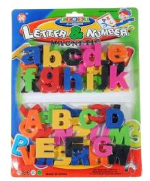 Adraxx Magnetic Capital Lowercase Alphabet - 52 Pieces