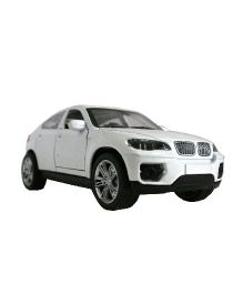 Adraxx Die Cast Model BMW Car - White