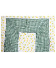 Kids Clan Fresh Lime Quilt - White Yellow Green