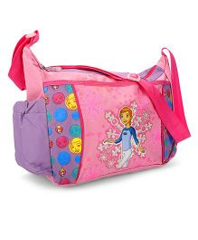 Disney Gwen 10 Messenger Bag Pink And Purple - 10 Inches