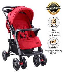 Babyhug Wander Buddy Stroller - Red
