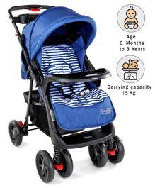 Babyhug Wander Buddy Stroller - Blue