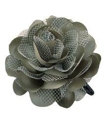 Miss Diva Single Flower Tic Tac - Silver