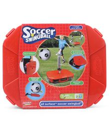 Mookie My First Soccer Swing Ball - Black White Red