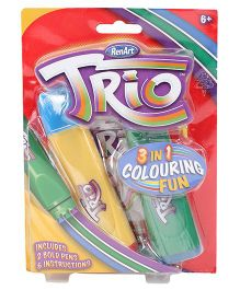 Renart Trio 2 Bold Pens With 3 In One Color