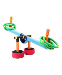 Safsof See Saw Ring Toss Set - Multi Color