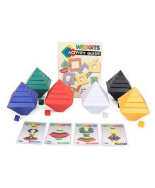 Wedgits Class Pack Building Blocks  Multicolor - 90 Pieces