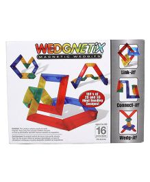 Wedgits Wedgnetix Magnetic Set - 16 Pieces