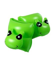 Poolmaster Frog Head Arm Floats Green - Pack of 2
