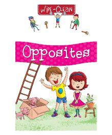 Pegasus Wipe & Clean Opposites Book - English