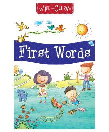 Pegasus Wipe & Clean First Words Book - English