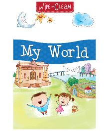 Pegasus My World Wipe & Clean Board Book - English