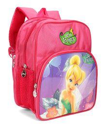 Disney Fairies School Bag Pink - 11 Inches