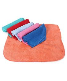 Ohms Solid Color Napkins Multicolor - Pack of 6