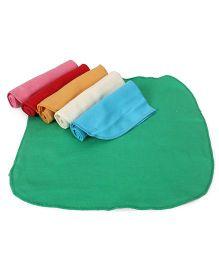 Ohms Plain Napkins Pack of 6 - Multicolor