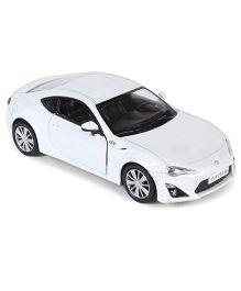 RMZ Toyota 86 Die Cast Car - Matte White