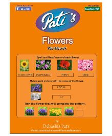 Pati's Flowers Downloadable Workbook - English