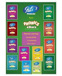 Pati's Phonics Learning Bundle Offer Downloadable Workbook - English
