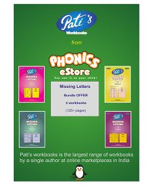 Pati's Missing Letters Bundle Offer Downloadable Workbook - English