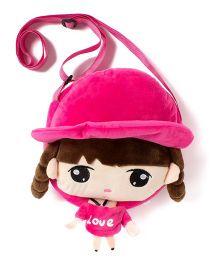 Wow Kiddos Doll Side Sling Bag - Pink