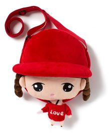 Wow Kiddos Doll Side Sling Bag - Red
