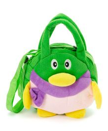 Wow Kiddos Penguin Side Sling Bag - Green