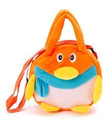 Wow Kiddos Penguin Side Sling Bag - Orange