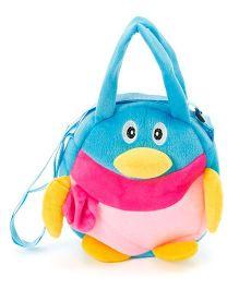 Wow Kiddos Penguin Side Sling Bag - Blue