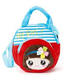 Wow Kiddos My Girl Side Sling Bag - Blue