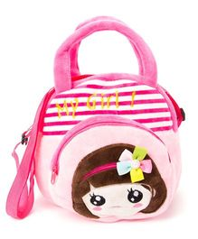 Wow Kiddos My Girl Side Sling Bag - Pink