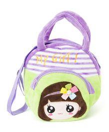 Wow Kiddos My Girl Side Sling Bag - Purple