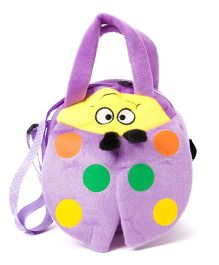 Wow Kiddos Caterpillar Side Sling Bag - Purple
