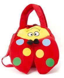 Wow Kiddos Caterpillar Side Sling Bag - Red