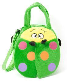 Wow Kiddos Caterpillar Side Sling Bag - Green