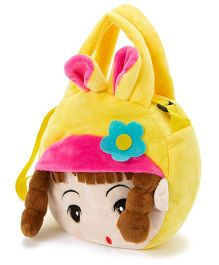 Wow Kiddos Doll With Pony Side Sling Bag - Yellow