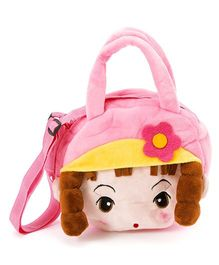 Wow Kiddos Doll With Pony Side Sling Bag - Light Pink