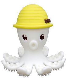 Mombella Octopus Teether Toy- Yellow