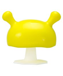 Mombella Mushroom Soothing Teether Toy -Yellow