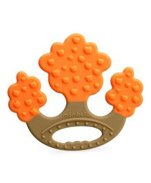 Mombella Apple Tree Teething Toy - Orange