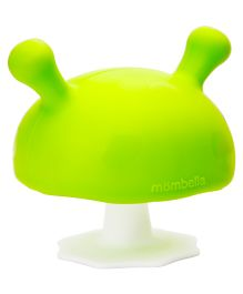 Mombella Mushroom Soothing Teether Toy - Green