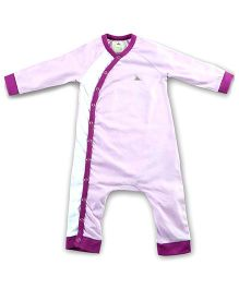 Cherry Crumble California Full Sleeves Bodysuit - Purple