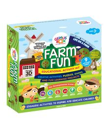 Genius Box 9 in 1 Farm Fun Activity Kit