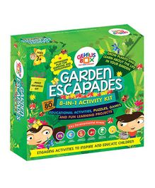 Genius Box 8 in 1 Garden Escapades Activity Kit