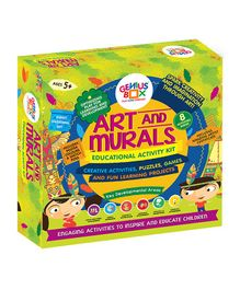 Genius Box 8 in 1 Art and Murals Activity Kit