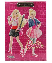 Barbie Sparkle Writing Pad - Pink