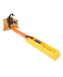 Hotwheels Desert Sting Launcher - Orange And Yellow