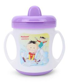 Morisons Baby Dreams Poochie Feeding Cup White & Violet - 180 ml
