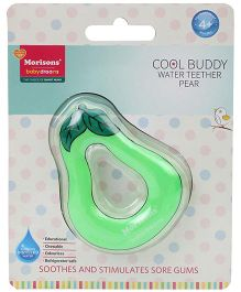 Morisons Baby Dreams Cool Buddy Pear Shape Water Filled Teether - Green