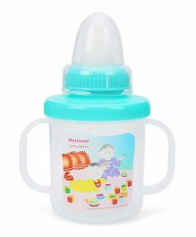 Morisons Baby Dreams Softie Sippie Feeding Cup Green 180 ml (Print May Vary)
